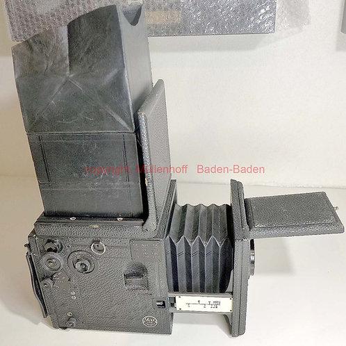ICA Künstler Kamera 9X9 Reflex mit Zeiss Tessar 4,5-6,5cm