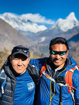 Founders of Sherpa Khumbiyila Adventures also known as SKA adventures, Nima Tsering.jpg