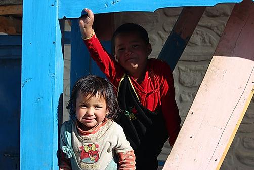 Dolpo children , Devika and sister.JPG