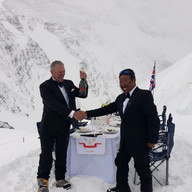 Everest Dinner Party, North Col