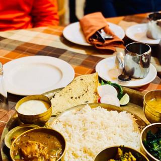Nepalese food Dal Bhat SKA Adventures