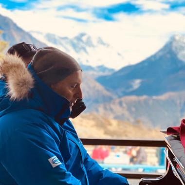 John Richard, Personal Retreat trek, Himalayas