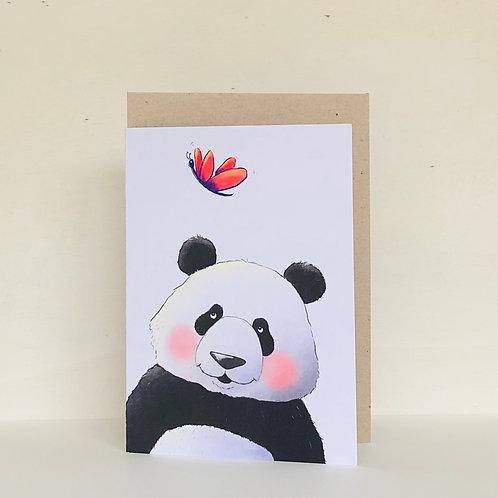 Panda Eco Greeting Card