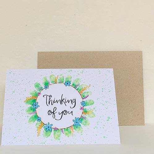 Thinking of You Eco Greeting Card