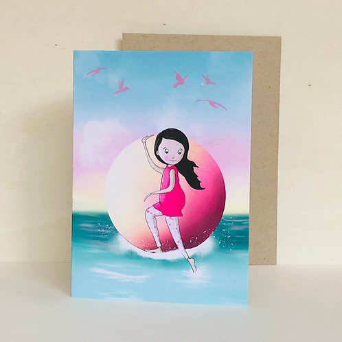 Ocean Dreaming Eco Greeting Card