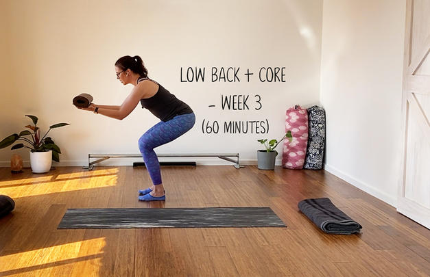 Low Back and Core Week 3