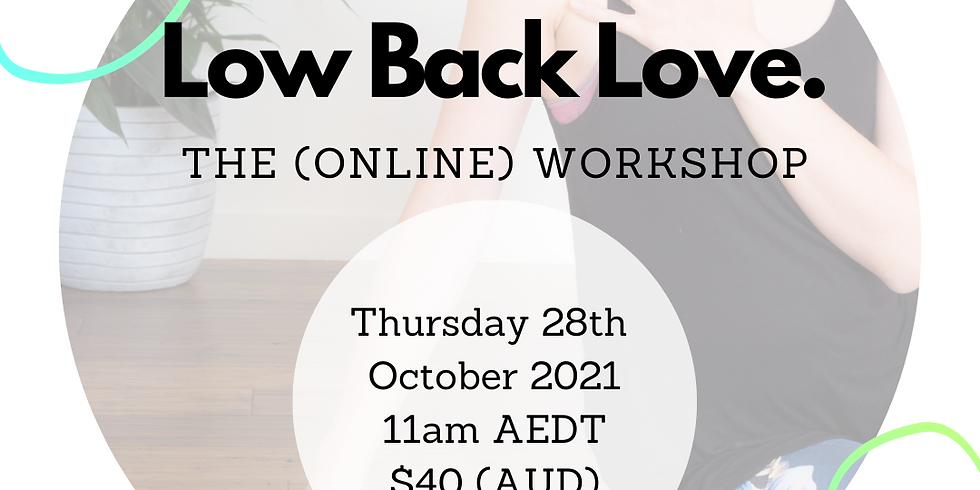 Low Back Love Workshop