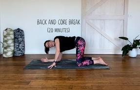 Back and Core Break