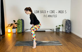 Low Back and Core Wk 5