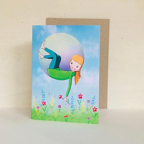 Garden Eco Greeting Card
