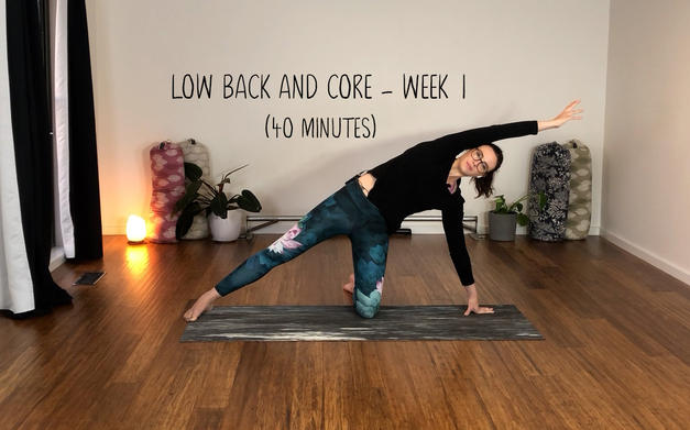 Low Back and Core Week 1 (1241)