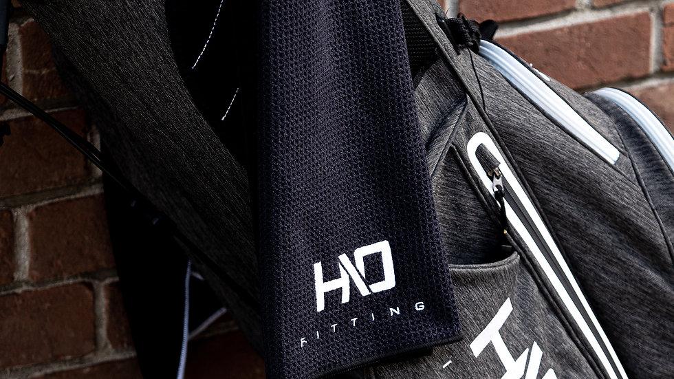 HIO Handtuch schwarz