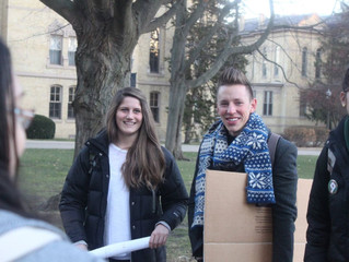 A letter to Senator Donnelly from Notre Dame Seniors Otterbeck and Blad: Lead on Clean air and Energ