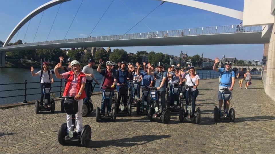 Segway Tour Maastricht Sint Pieter 90 min