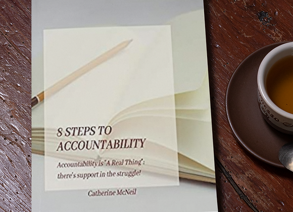 """8 steps to accountability: Accountability is """"A Real Thing"""""""