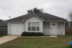 front of home 1