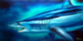 mako shark painting