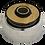 Thumbnail: Chrome 3-Hole Bolt Pattern Hub- 823