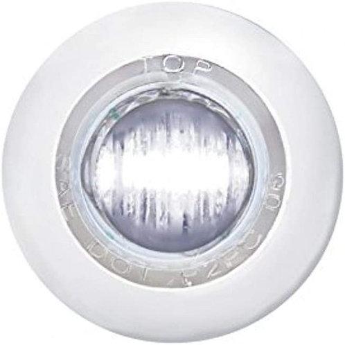 Mini Clearance/Marker Light-White LED/Clear Lens