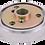 Thumbnail: Chrome 3-Hole Bolt Pattern Hub- 831