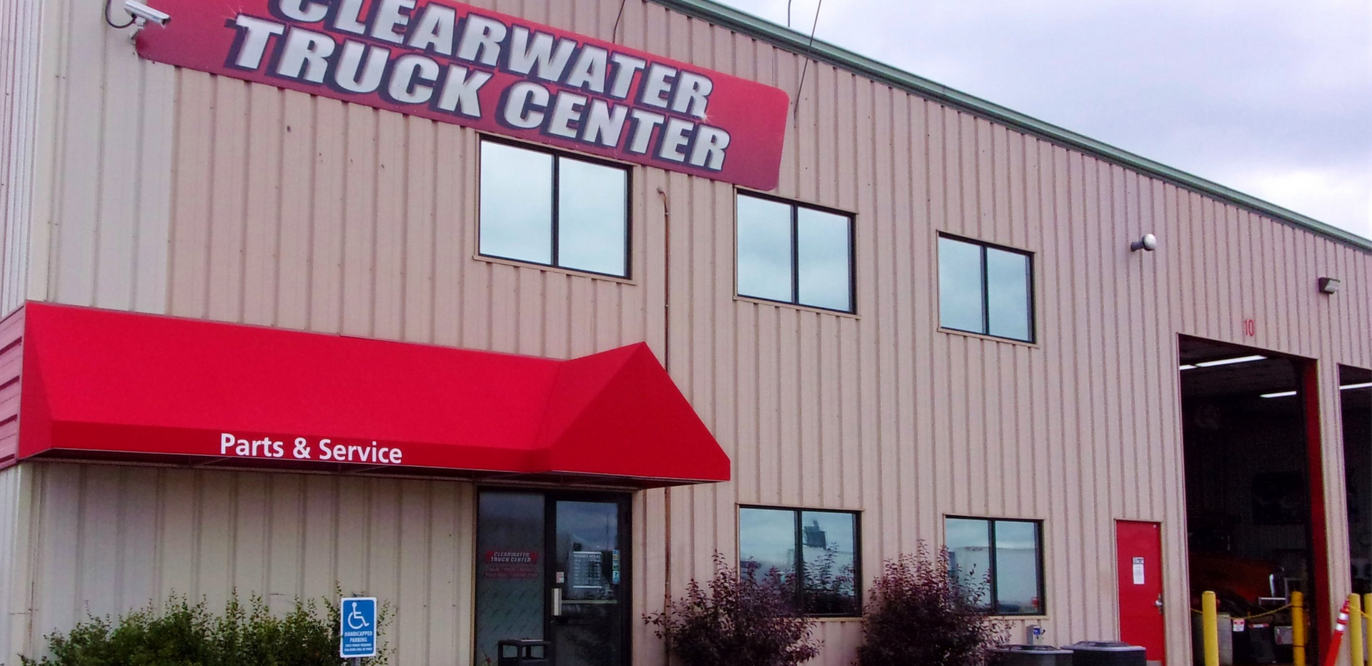 Front Of Clearwater Truck Center