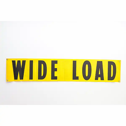 """18"""" x 84"""" Wide Load Sign"""