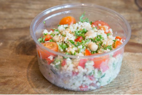 Quinoa Salad with Feta Cheese for 1, Gluten Free, Vegetarian