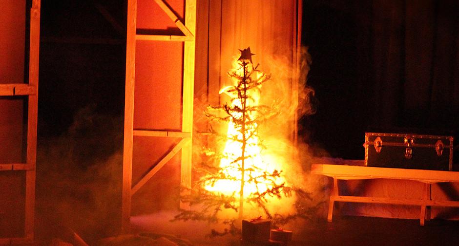 The Christmas Blaze