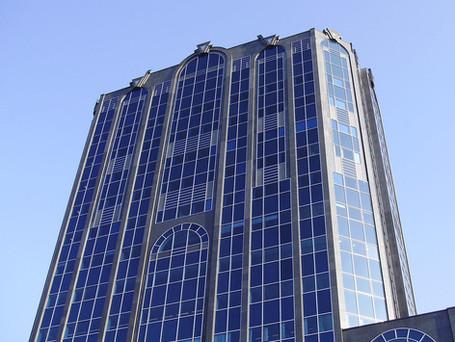 Works underway at the prestigious Colmore Gate Building in Birmingham City Centre