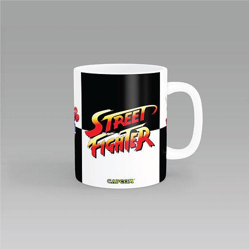 Street Fighter - Sagat, Balrog, Vega y M. Bison