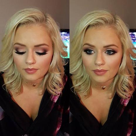 My beautiful client ellie 😍__#makeupart