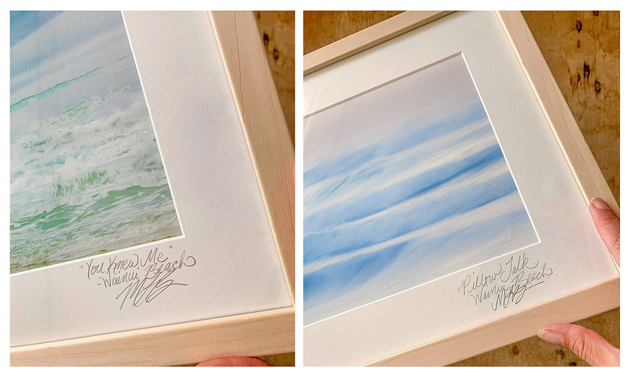 Framed Wainui Set of Two