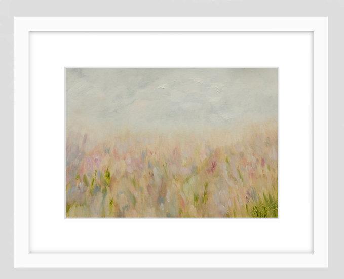 Beach Impression - framed