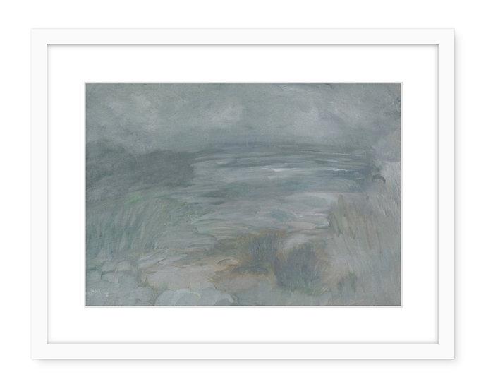 Rain On The Way- framed