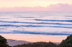 Sunrise ocean art new zealand