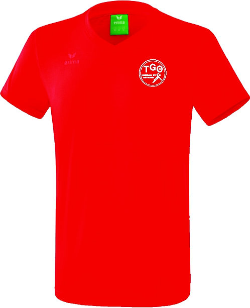 TGO Style T-Shirt Baumwolle V-Ausschnitt