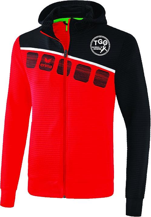 TGO Trainingsjacke mit Kapuze