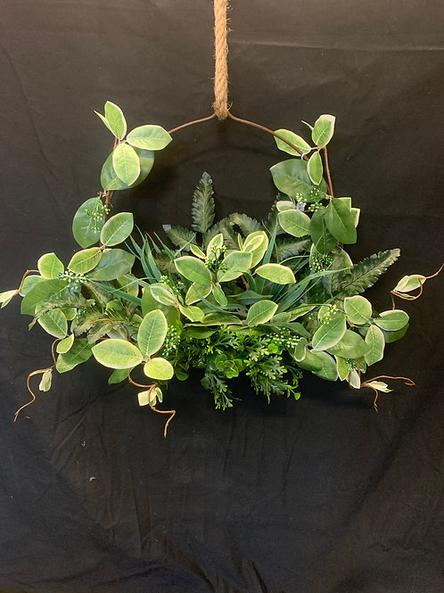 Greenery Wall Hanger