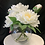 Thumbnail: Artificial peony arrangement with resin