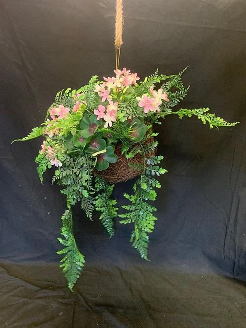 Artificial Hanging Basket Arrangement