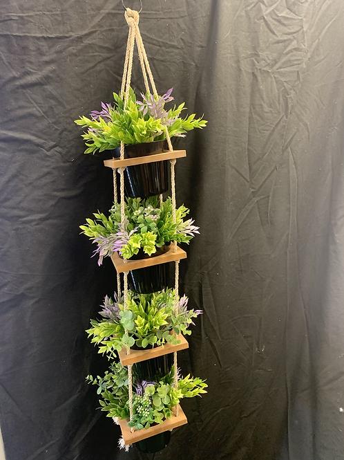Artificial Hanging pot arrangement