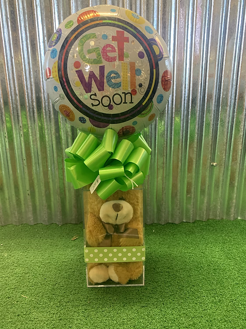 Get well teddy & balloon!