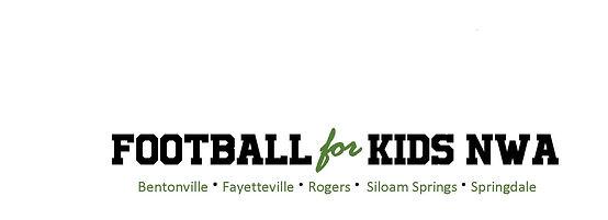 Football for Kids NWA Bvill Fville Roger