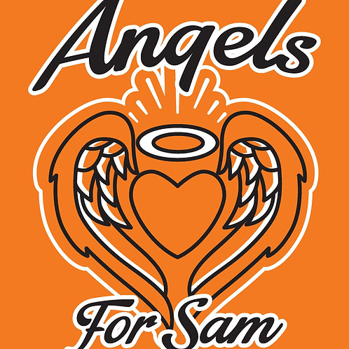 ORANGE - Angels for Sam Benefit Ride T-shirt