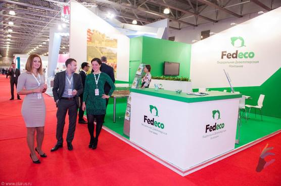 """Стенд компании """"Fedeco"""""""