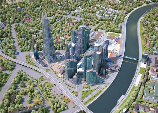 Москва-Сити - 2009 г.