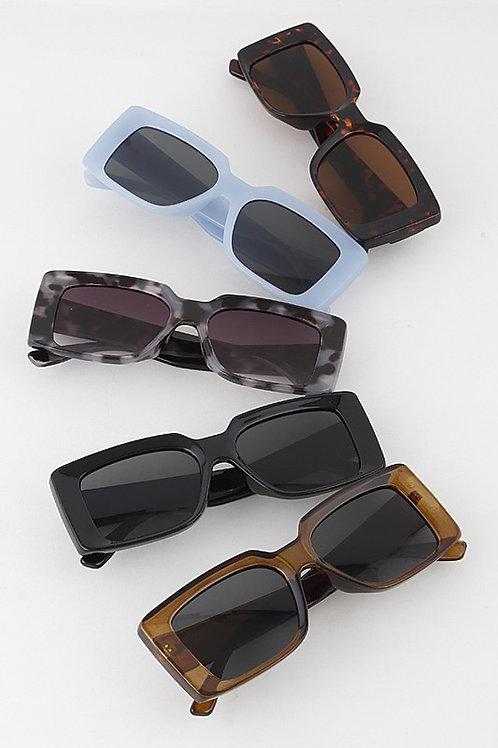 Rectangle Lens Sunglasses