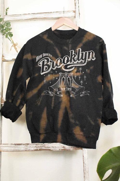 Brooklyn Tie Dye Sweatshirt