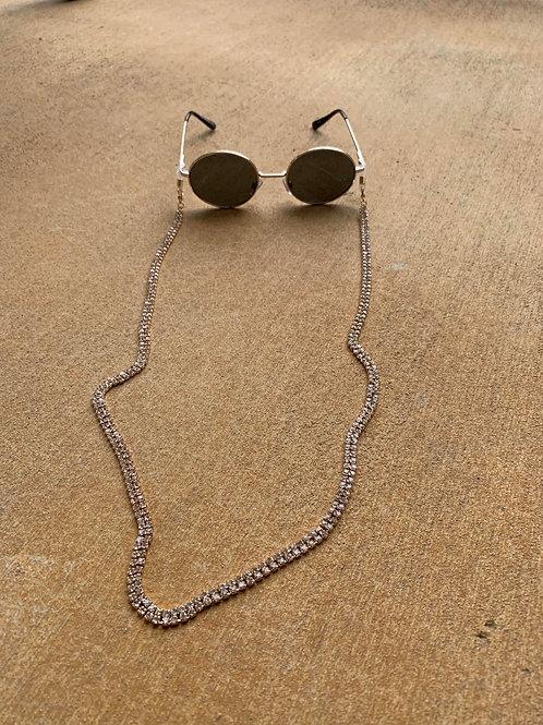 Rhinestone Sunglasses Chain