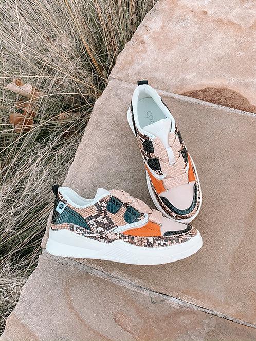 """Shindig"" Snake Sneakers"